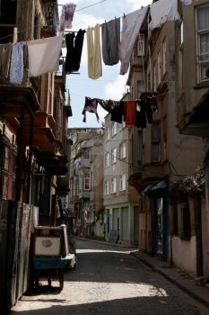 old street of Balat by intothepics