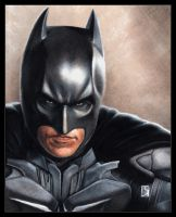 Christian Bale, Batman by louissollune