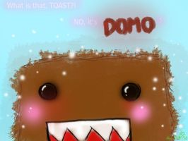 TOAST? No it's DOMO silly by Nach4ever