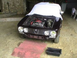 Alfa Romeo GT1300 - Surgery Starts! by TwistedMethodDan