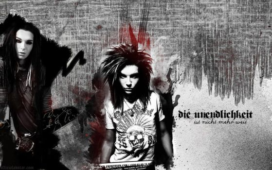 Wallpaper- Tokio Hotel by Nuptaa