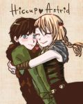 hiccup_astrid by starsalad