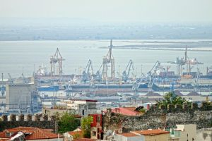 Thessaloniki view by Fortisinprocella