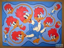 Woody Woodpecker Fractal by RThies