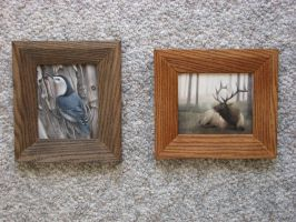 Little Paintings Framed by Misted-Dream