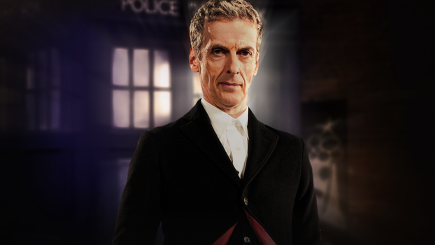 Doctor Who Capaldi Wallpaper by tardisplus