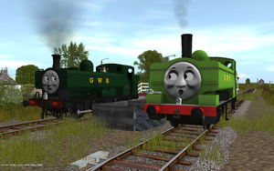 Railway Series meets Television Series: Duck by Sergeant-Sunflower