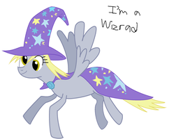The Great and Powerful Derpy by TrotPilgrim