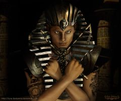 Mystic Pharaoh ancient Egypt by Luna Fantasma by Luna-Fantasma