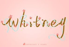 Whitney by pearl7052