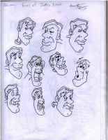 The many faces of jerry lewis by Azraelsdemon