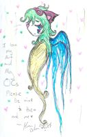 Please be nice to my art and OCs by Kittychan2005