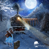 Polar Express by MiloshJevremovic