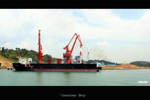Container Ship by danislaper