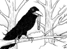 The Raven by HarshRealities