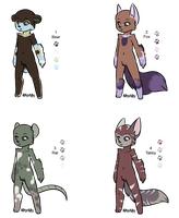 Mystery Fur Adopts 1 - Adopted by Feralx1