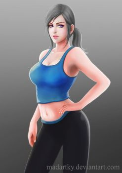 Wii Fit Trainer by madartky