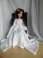 Arwen inspired White Dress by kayanah