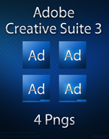 Adobe Creative Suite 3 Icon by Max74