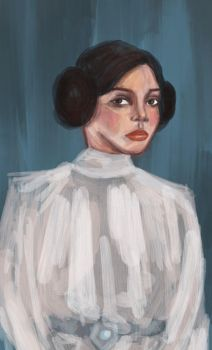 Leia by TheBrokenMasterpiece