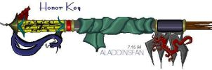 Honor Keyblade by AladdinsFan