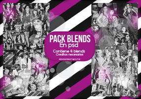 ++Pack 4 Blends en PSD by DidYouForgetAboutMe