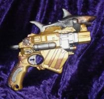 Williams and Fern Air-Shark Raygun - Profile by davessyndrome