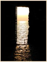 -door on the sea- by Fohnshaper