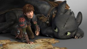 HTTYD 2 Drawing together by Lifelantern