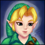 A young Link thing by Jasmineteax