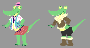Gator Outfits by sky665