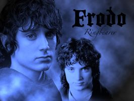 Frodo Wallpaper by bethahnee