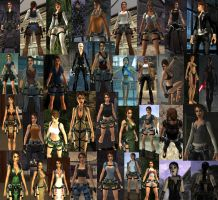 TR Legend Outfits by tansy9