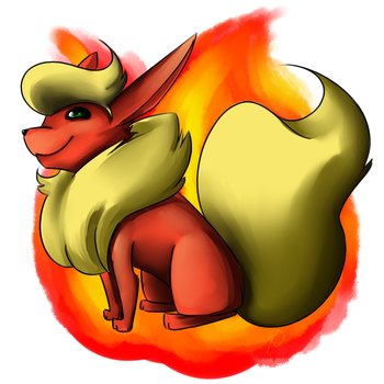 Flareon by Iceixient
