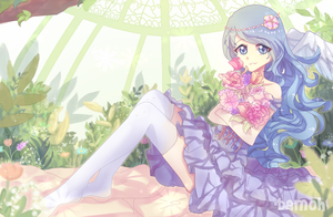 Flower bed by Bamoh-cchi