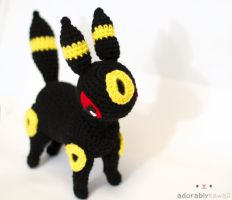 Pokemon Umbreon Amigurumi by adorablykawaii
