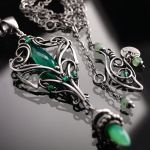 Luxuria necklace 1 by BartoszCiba