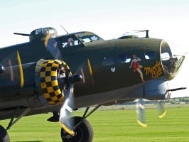 B17 Sally B Up close by davepphotographer