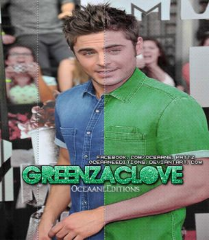 PSD: GreenZacLove By:OceaaneEditions by OceaaneEditions