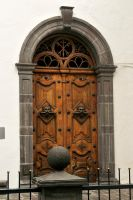 Convent doorway 1 - Quito by wildplaces