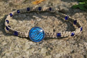 Water Tribe Necklace by zeldalilly