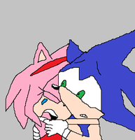 Sonic and Amy by L-fangirl-101