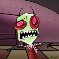 Invader Zim by Krankit