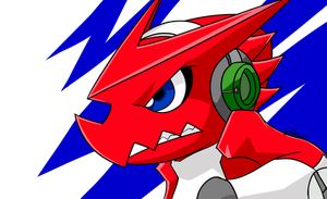 Shoutmon II by WaChuLeRuXx
