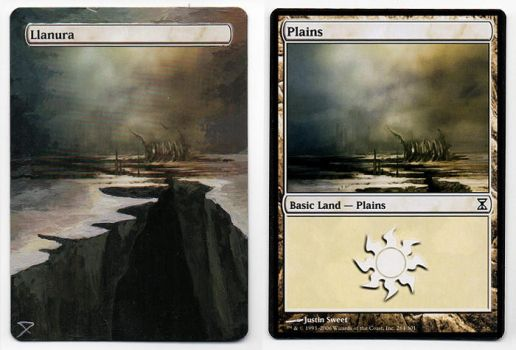 Plains- Altered Magic Card by jheans