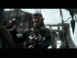Hector Barbossa-Rembrandstyle by KomyFly