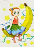 Banana girl by michaelandrewlaw