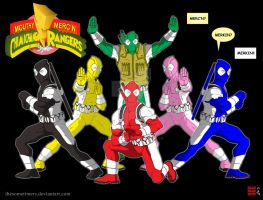 Mouthy Merc'n Chimichanga Rangers by thesometimers