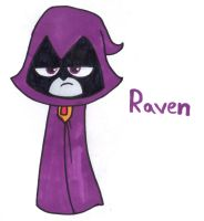 Raven by YouCanDrawIt