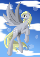 Flying with Bubbles by ErinKarsath